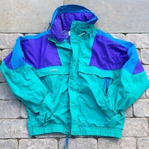 VTG Columbia Nylon ¡Caramba! Jacket, L